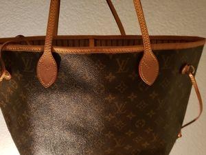 Authentic Louis Vuitton Neverfull monogram bag
